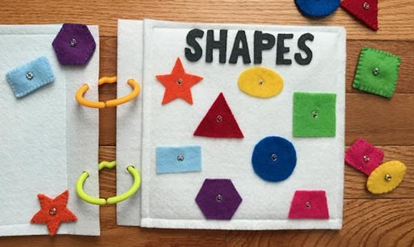 Quiet Book Spielbuch stilles Buch selber machen Ideen