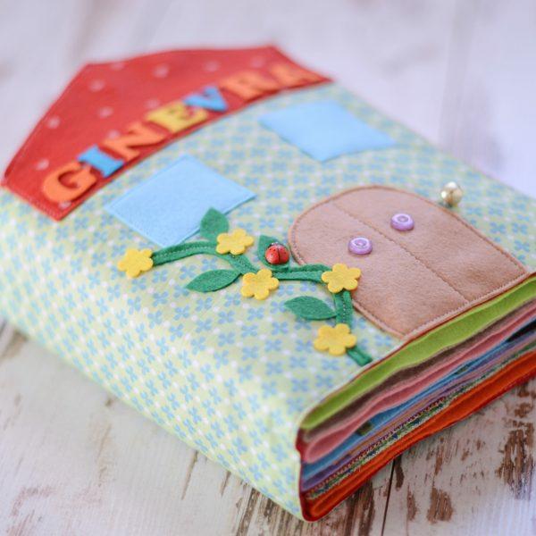 Quiet Book nähen Spielbuch stilles Buch personalisiert