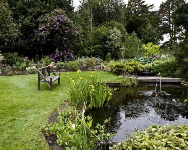 Ruhe und Entspannung in der Gartengestaltung Naturgarten anlegen