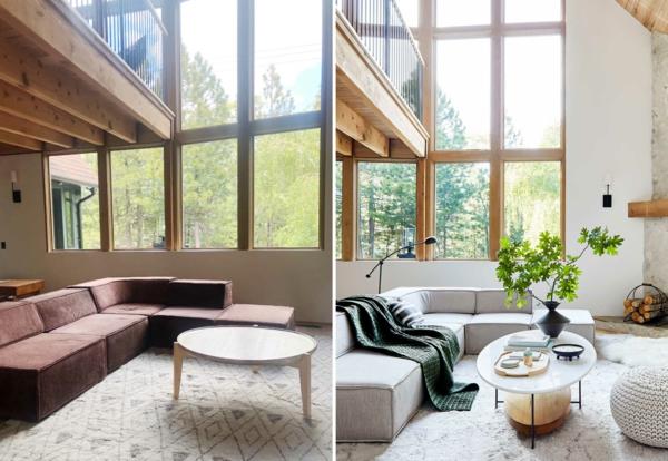 Sofa neu beziehen lassen Tipps Wohnzimmer Interieur