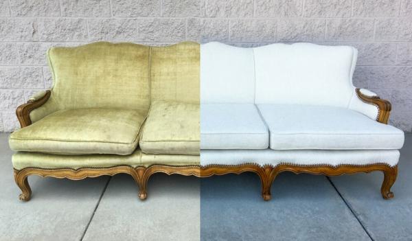 Sofa neu beziehen lassen Vorteile Nachteile