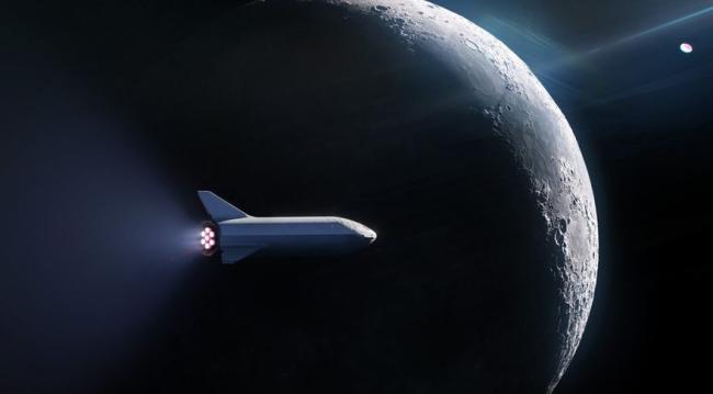 SpaceX Elon Musk Falcon-9-Rakete erster bemannter Flug zur ISS neue Zukunft hat begonnen traumhafte Welt des Weltalls