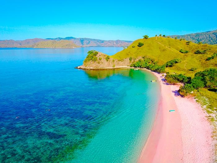 Top 5 der schönsten Strände der Welt Pink Sand Beach Bahamas Paradies auf Erden unreale Naturschönheit