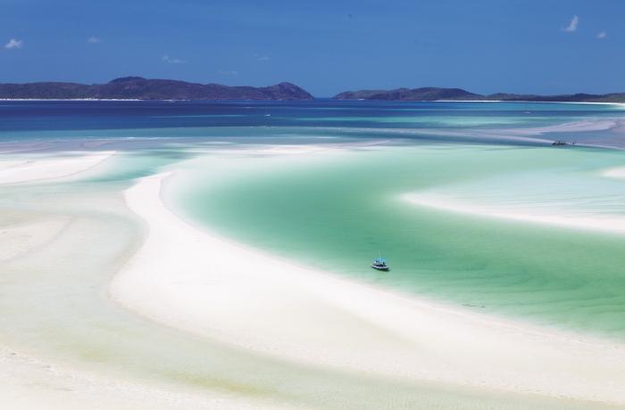 Top 5 der schönsten Strände der Welt Whitehaven Beach Australien Paradies auf Erden gewünschtes Traumziel