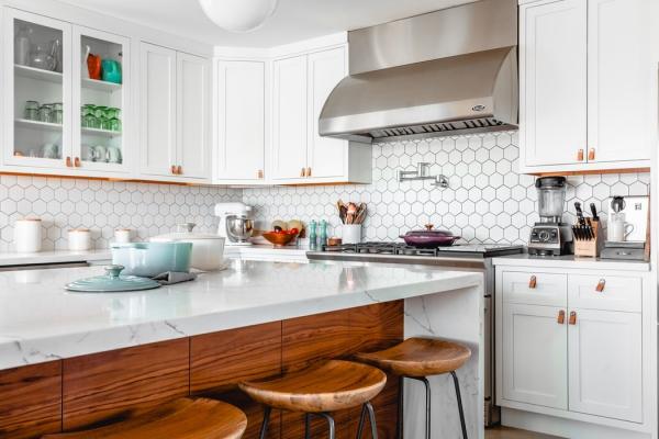 Trend helles Wohnen Gesund und schön naturnahe und helle küche einrichtung