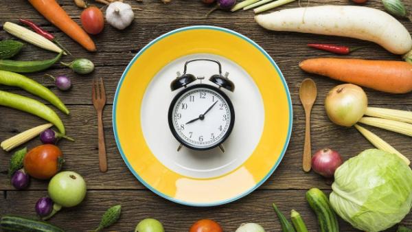 Verteilunf nach Tageszeiten - Formula Diät