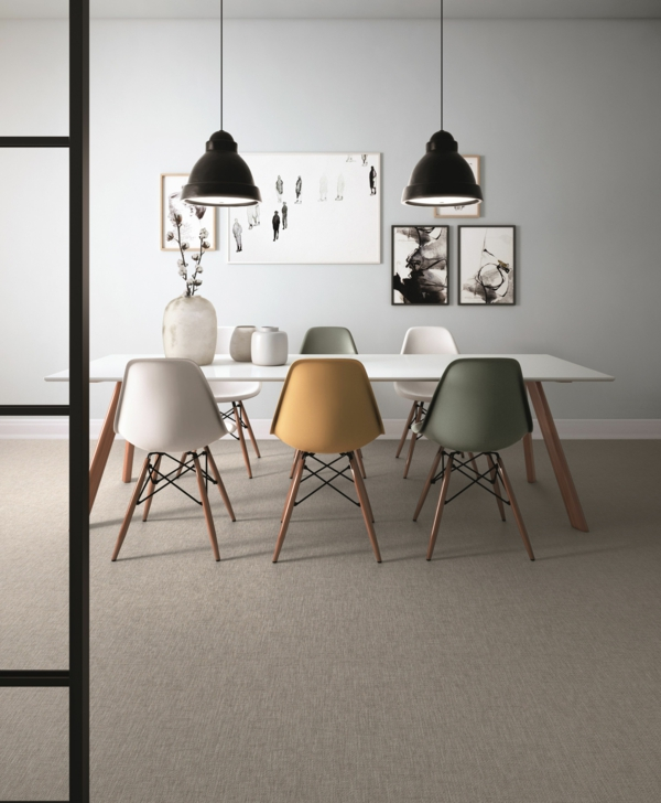 eames chairs esszimmer designklassiker