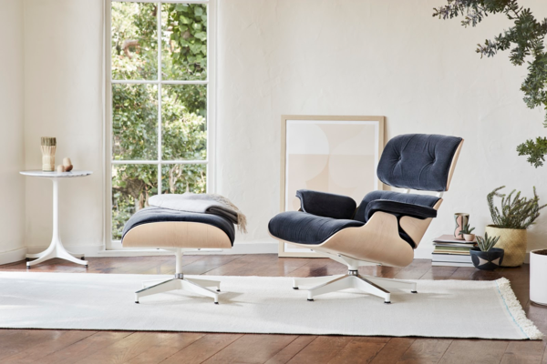 eames lounge chair designklassiker einrichtungsidee