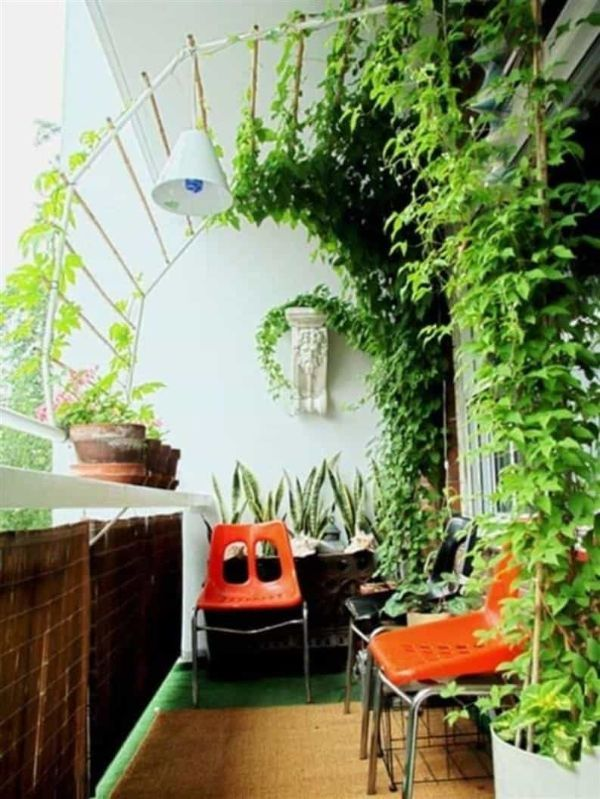 einen sehr kleinen Balkon bepflanzen