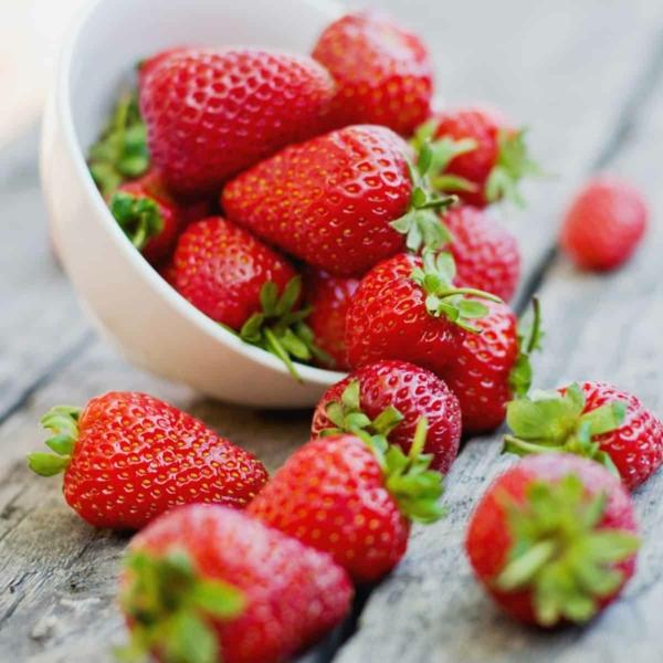 erdbeeren nährwerte erdbeersaison