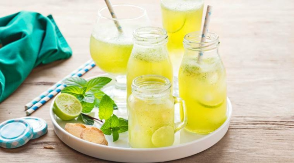 erfrischende Sommergetränke traditionelle indische Getränke
