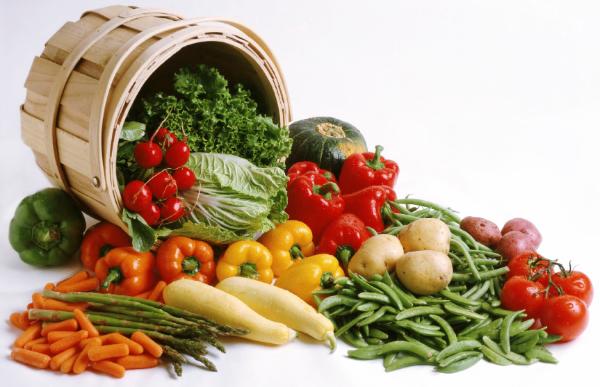 frische Mischung aus Gemüse Formula Diät