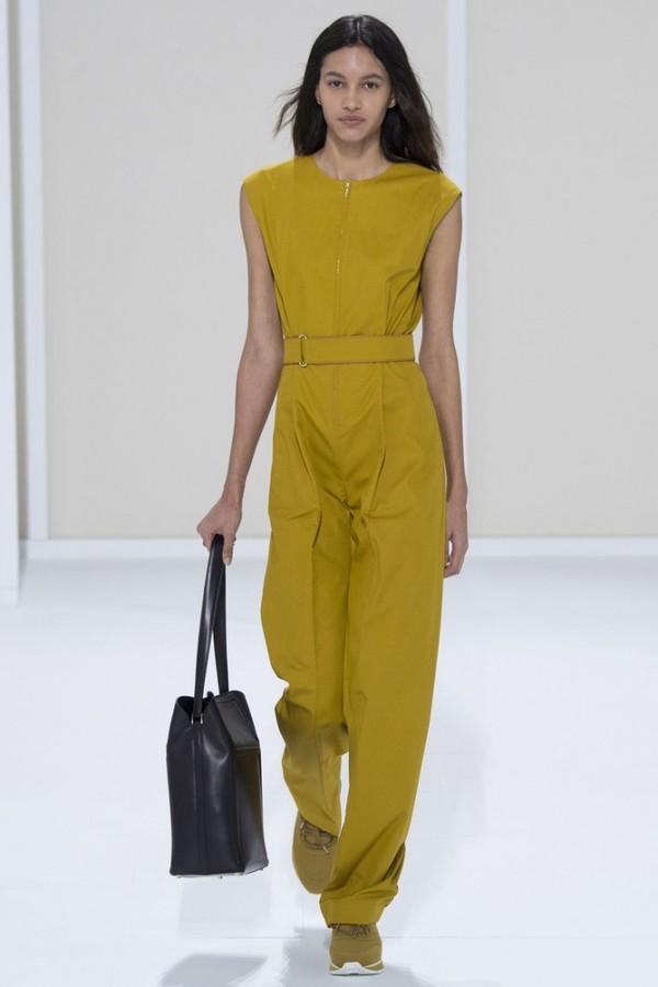 gelber Anzug - tolle Ideen - Jupmsuit