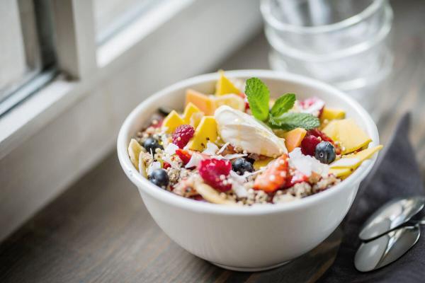 gesundes Mittagsessen - Mittagstief