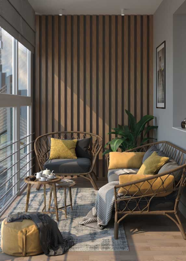 hochqualitative Balkonmöbel - Balkon-Sofa