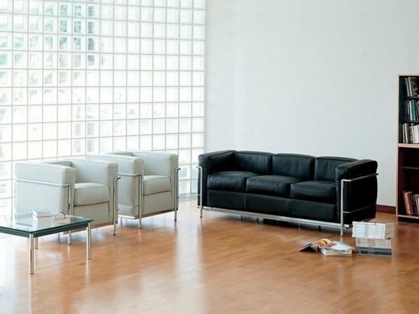 le corbusier ledersofa sessel designklassiker