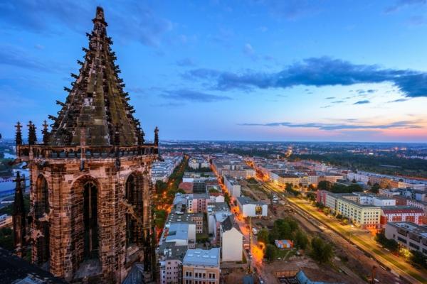 magdeburg stadtpanorama