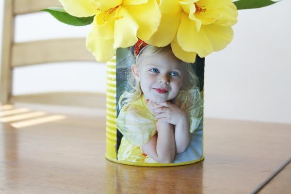 schnelle muttertagsgeschenke basteln foto blechdose