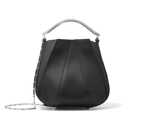 schwarze Tasche - Leder - Damentaschen