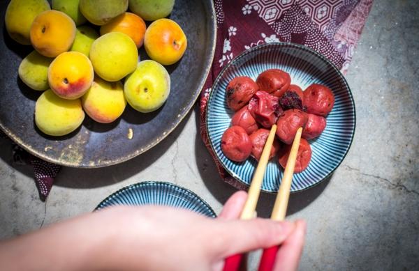umeboshi japanische pflaume körper entgiften