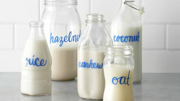 Alternativen zu Kuhmilch laktosefreie Milchalternativen