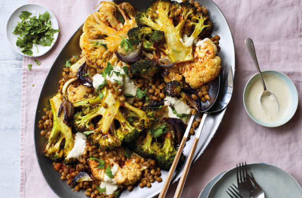 Brokkoli kochen - gemüse am Grill