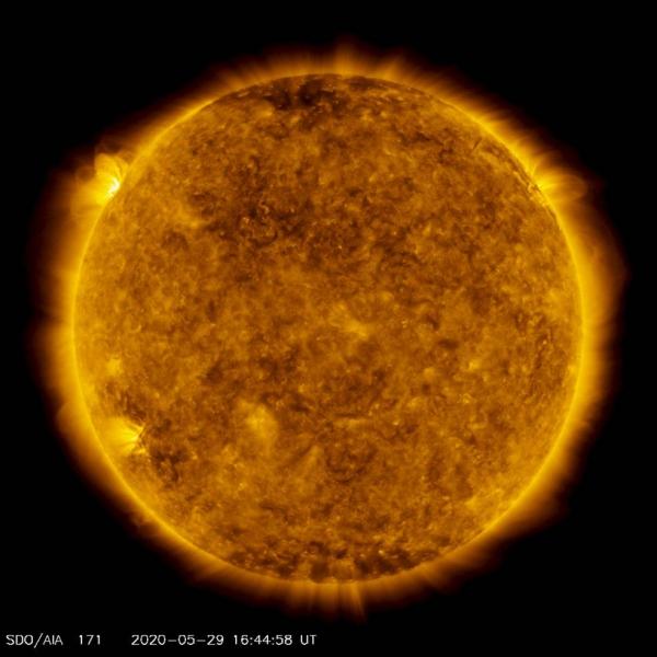 Das Solar Dynamics Observatory der NASA erkennt die größte Sonneneruption seit 2017 unsere sonne in hd qualität