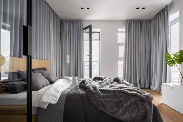 Gardinen Trends - Schlafzimmergestaltung