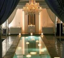 Privates Hallenbad steht für Luxus und vollkommenen Relax