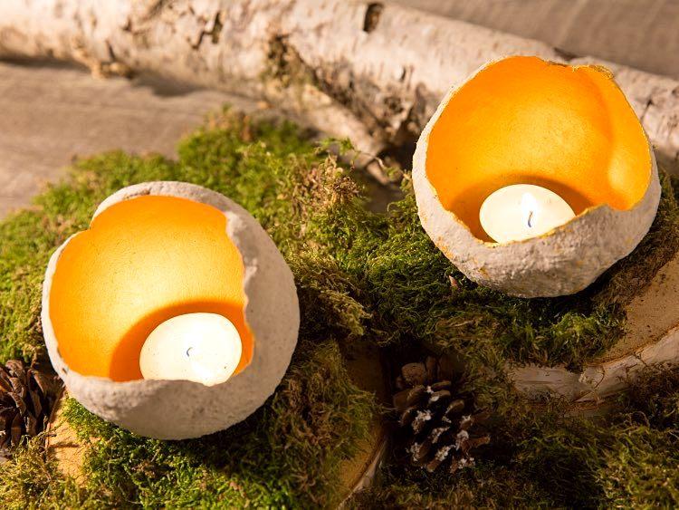 Kerzneständer selber machen DIY Ideen