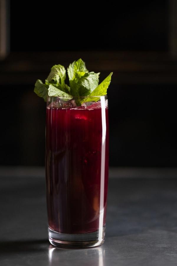 Mocktail Rezepte alkoholfreie Cocktails Rezepte Berry Burlesque
