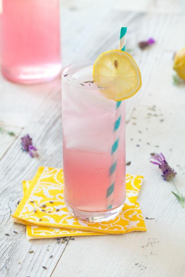 Mocktail Rezepte alkoholfreie Cocktails Rezepte Lavender Lemonade