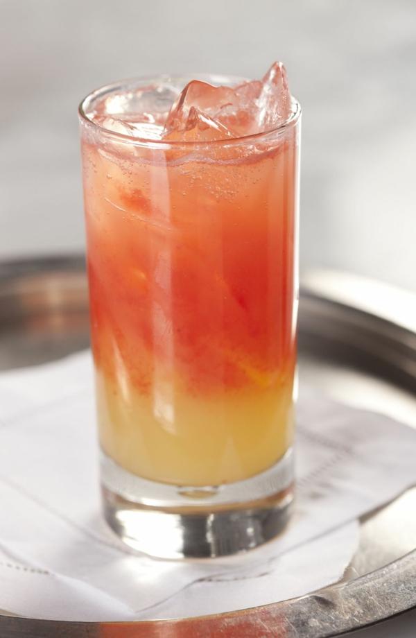 Mocktail Rezepte alkoholfreie Cocktails Rezepte Pineapple Cobbler