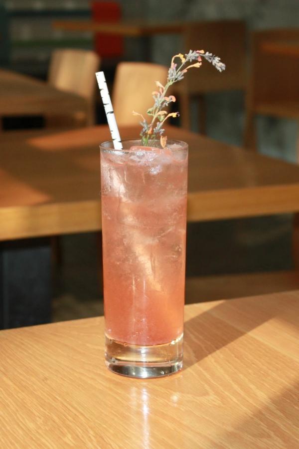 Mocktail Rezepte alkoholfreie Cocktails Rezepte Strawberry Black Peppercorn Shrub Soda