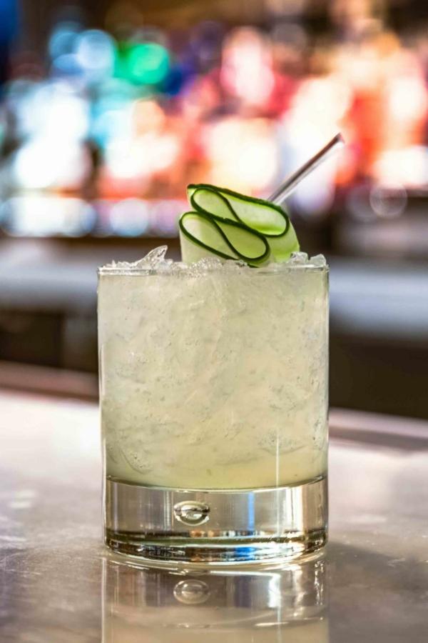 Mocktail Rezepte alkoholfreie Cocktails Rezepte Virgin Cucumber Gimlet