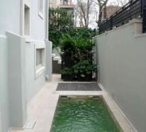 Schmale Pools für kleine Gärten lassen Sie doch die Freude am Wasser genießen