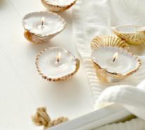 Sommerdeko mit Muscheln – bringen Sie ein Urlaubsfeeling in Ihre vier Wände