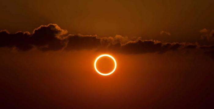 Sonnenfinsternis 2020 ringförmig diesmal in der Ferne dauert fast 4 Stunden