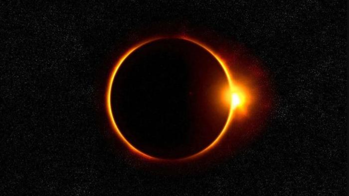 Sonnenfinsternis 2020 seltsames Phänomen am Himmel am 21. Juni der Mond bedeckt die Sonne