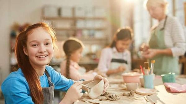Töpfern mit Kindern Vorteile Kinderentwicklung