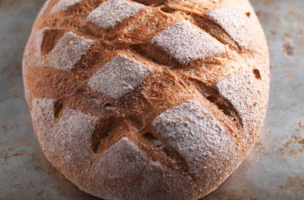 Vollkorn - rundes Brot - leckere Ideen
