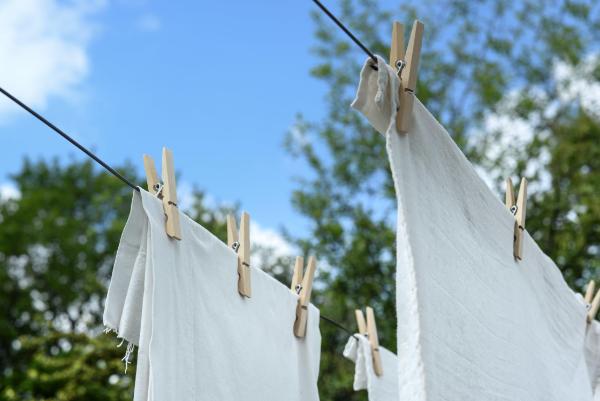 Wäsche hängen Rost entfernen