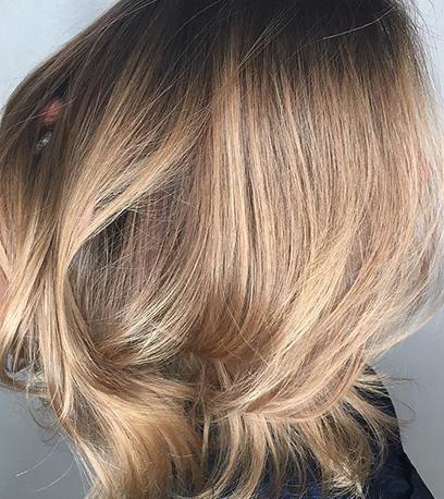 ausgezeichnete haarfarbe toffee blonde