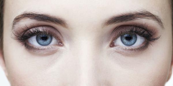 blaue augen schminken dezentes make up