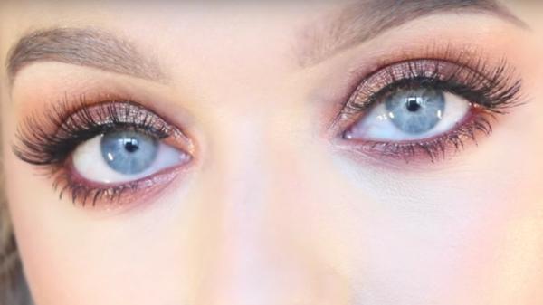 blaue augen schminken tipps