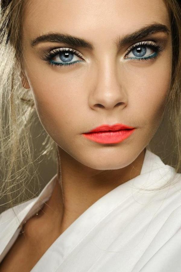 dezentes augen make up blaue augen schminken