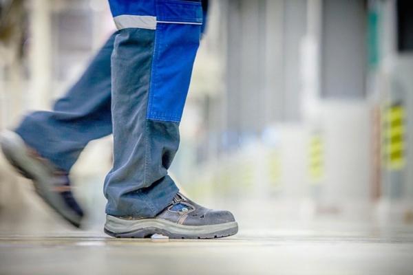 Φορέστε τα κατάλληλα παπούτσια ασφαλείας
