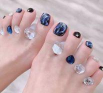 Schöne Fußnägel – 39 fabelhafte Nageldesign Ideen für den Sommer