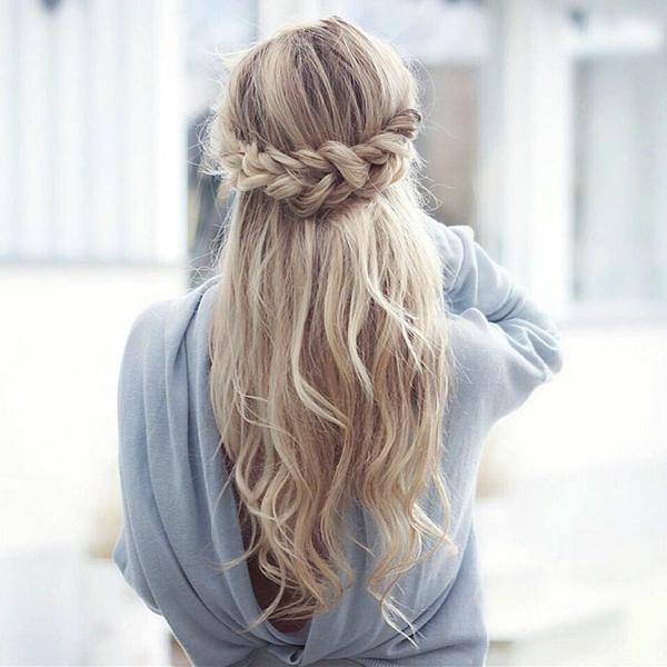 flechtfrisuren sommer lange haare