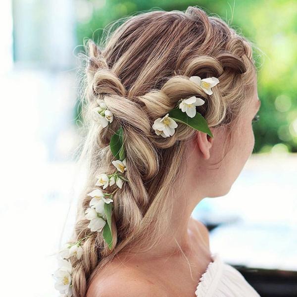 hochzeitsfrisuren lange haare flechtfrisuren